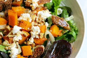 Squash and Fig Salad